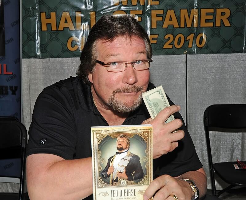 Ted BiBiase is an ordained minister in real life