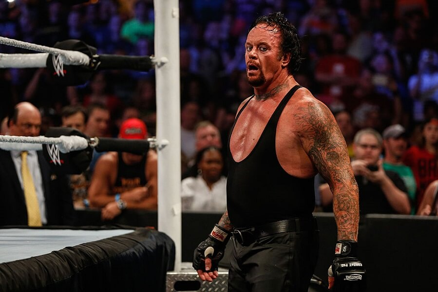 The Undertaker is a really good guy in real life