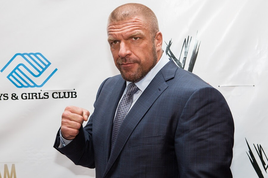 Triple H has become a mentor for wrestling's youth