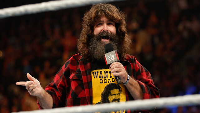 Mick Foley Bruised A Kidney After Being Thrown From A Steel Cage