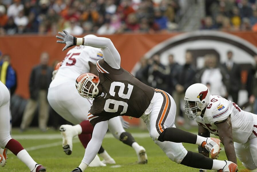 Courtney Brown never became the player the Browns needed him to be.