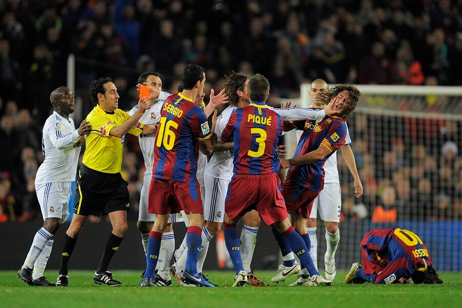 FC Barcelona vs Real Madrid is one of the world's most intense rivalries