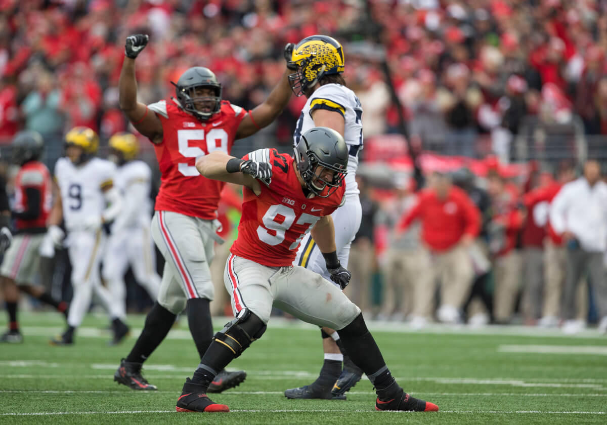 Michigan and Ohio State have a classic college football rivalry