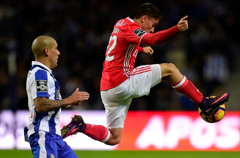SL Benfica and FC Porto play a bitter rivalry in POrtugal