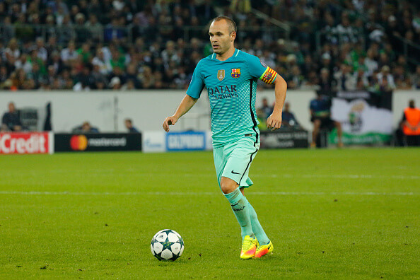 Iniesta Loves What China Is Offering Him