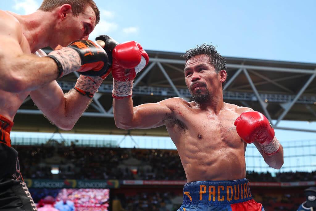 Fail: Pacquiao Knocks Himself Out