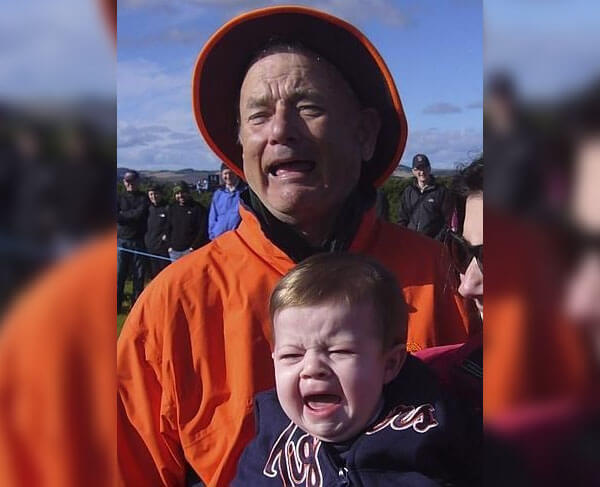 We Are All Bill Murray And This Baby
