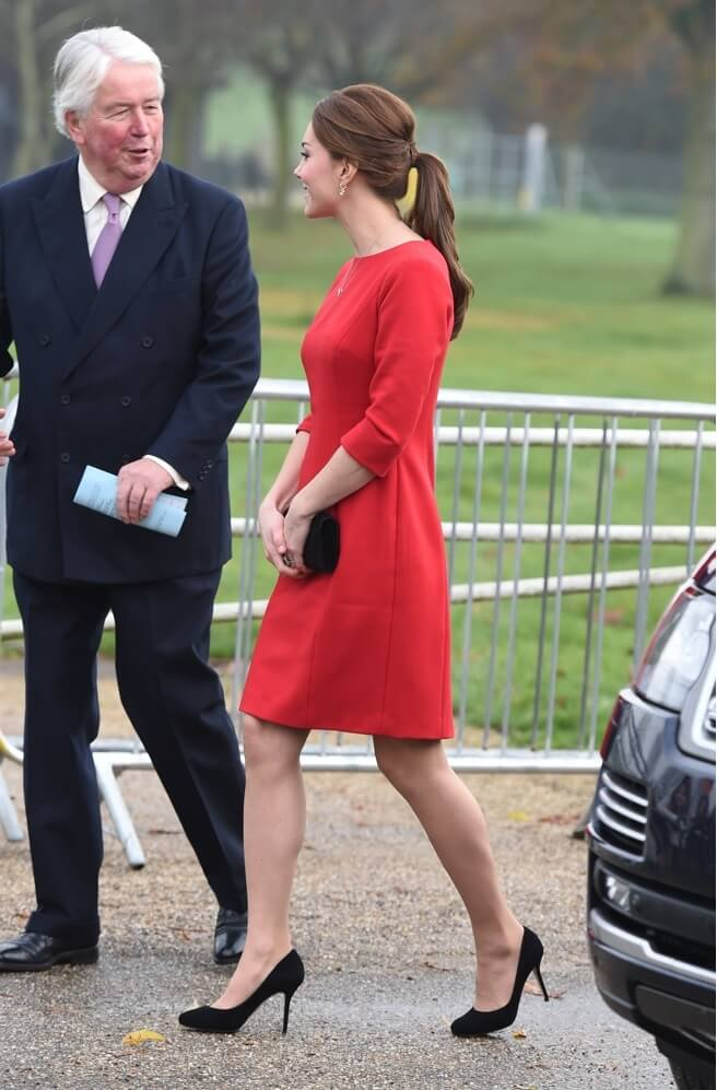 The Duchess of Cambridge attends the EACH Norfolk Capital Appeal