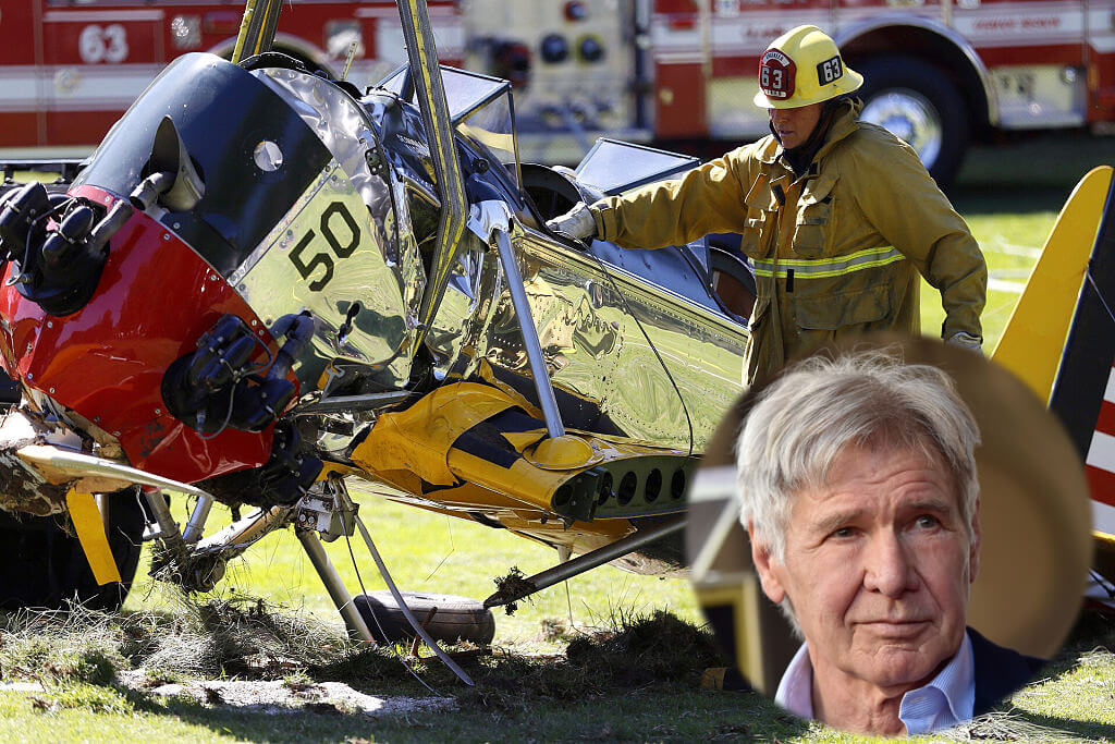 Harrison Ford Has Survived Plenty Of Plane-Related Accidents