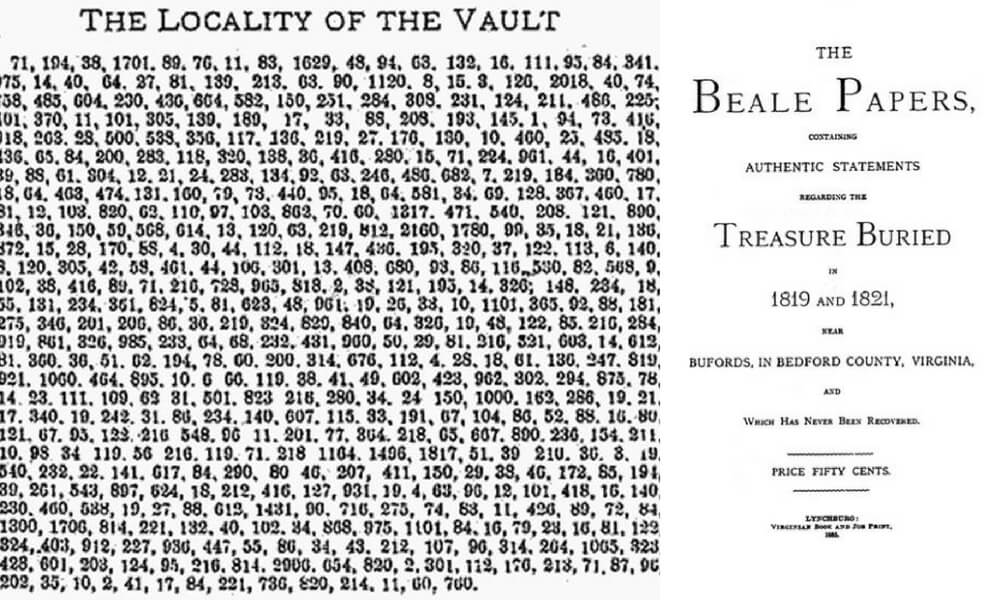 The Beale Papers Hold Clues To A $43 Million Treasure