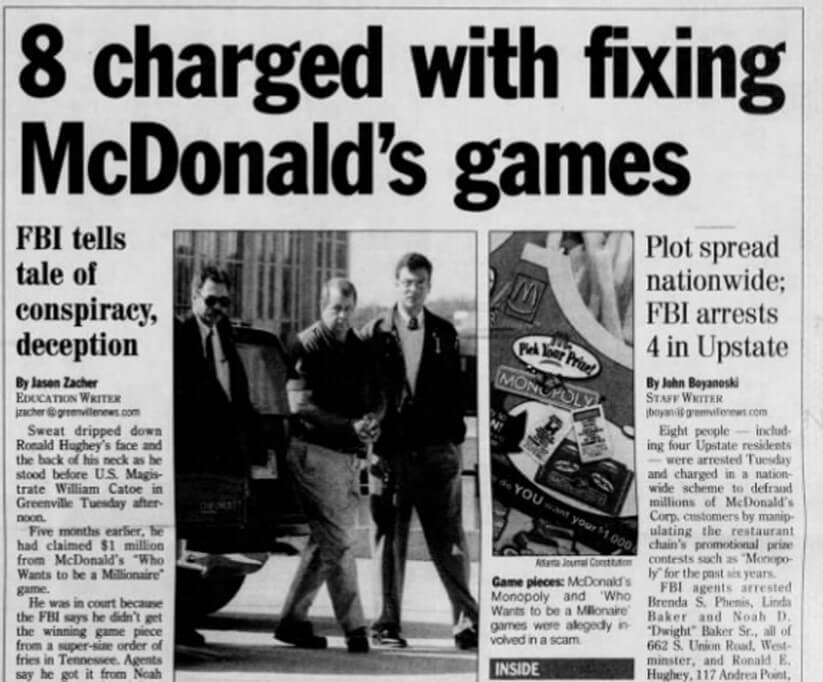 Eight People Were Charged In Connection With the McStint